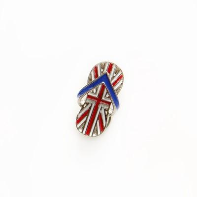 "Брошь ""Английский флаг"""