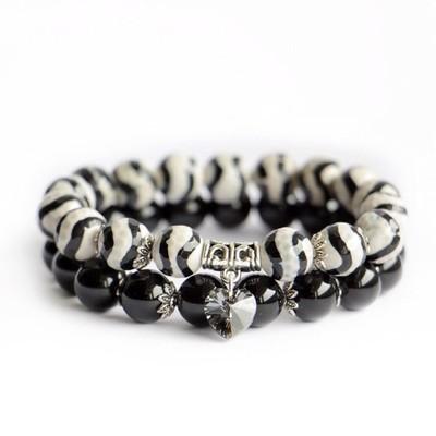 Комплект браслетов Леопард